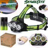 For Sale 25000Lm 5X Xm L T6 Headlamp Headlight Head Light Led Rechargeable Usb Battery Intl