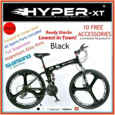 26 Foldable Full Suspension Mountain Bike Hyper Xt By Aextech.