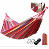 Compare Price 2Cool 200 80Cm Camping Hammock Breathable Canvas Camping Lounge Indoor Hammocks For Holiday Intl On China