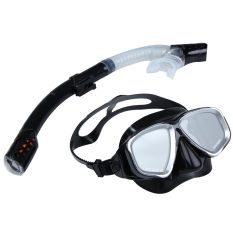 2in1 Swimming Diving Protective Goggle Breathing Tube Snorkeling Mask Set By Welcomehome.