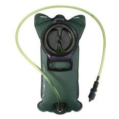 2L Bladder Hydration Bicycle Hiking Camelback Water Bag Silicone Nozzle Bit Green - intl
