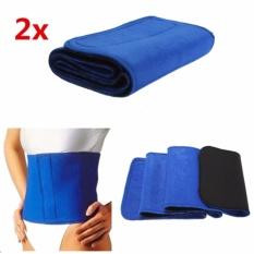 2pcs Neoprene Slimming Belt Body Sauna Wrap Burn Cellulite Waist Tummy Weight Lose - Intl By Yw Store.