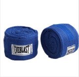 Lowest Price 2Pcs Roll Width 5Cm Length 3M Cotton Sports Strap Boxing Bandage Sanda Muay Thai Mma Taekwondo Hand Gloves Wraps 1Set Blue Intl