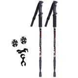 The Cheapest 2Pcs Lot Anti Shock Nordic Walking Sticks Telescopic Trekking Hiking Poles Ultralight Walking Canes With Rubber Tips Protectors Intl Online