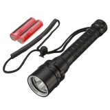 3 2 T6 Led Flashlight Diving Snorkeling Waterproof Torch Lighting Intl For Sale