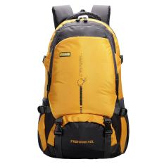 360dsc 45l Outdoor Sports Hiking Backpack Waterproof Climbing Traveling Shoulder Bag Rucksack - Yellow By 360dsc.