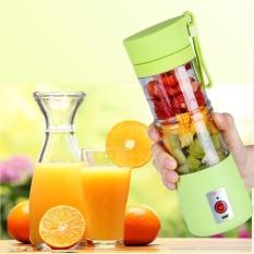 Retail 380Ml Portable Usb Electric Fruit Juicer Smoothie Maker Blender Shaker Bottle Green Intl