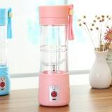 Discount 380Ml Portable Usb Electric Fruit Juicer Smoothie Maker Blender Shaker Bottle Pink Intl