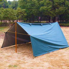 Get Cheap 3M X 3 2M Military Anti Uv Waterproof Tarp Awning Camping Tent Fishing Shelter Intl