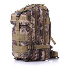 3P Hot Sale Unisex Travel Molle Camouflage Bags Equipment Bags Outdoor Military Tactical Backpack Sports Camping Hiking Bag Trekking Sport Rucksacks(Camouflage Leaves) Lower Price