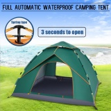 Sale 4 5 People Waterproof Automatic Instant Outdoor Pop Up Tent Camping Hiking Tent Green Intl