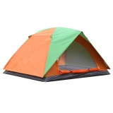 Retail Price 4 Person Waterproof Double Layer Tent For Family Hiking Camping Pinic Intl