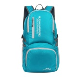 Discount 40L Outdoor Backpack Ultra Lightweight Water Resistant Nylon Backpack Lake Blue Intl China