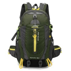 40l Water Resistant Travel Backpack Camp Hike Laptop Daypack Trekking Climb Back Bags For Men Women - Intl By Tomtop.