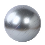 Price Comparisons For 45Cm Yoga Gym Fitness Ball Anti Burst Birth Pregnancy Ball Burst Resistance Free Air Pump Silver