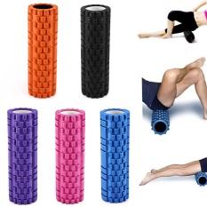 Sale 5 Colors Yoga Fitness Equipment Eva Foam Roller Blocks Pilates Fitness Gym Exercises Physio Massage Roller Yoga Block Intl Oem