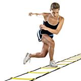 Cheaper 5 Meters Long Sports Agility Speed Fitness Leg Strength Feet Footwork Training Equipment Soccer Tool Football Training Ladder Yellow