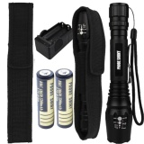 Get The Best Price For 5000Lm Xm L T6 Led 18650 Tactical Flashlight Torch Lamps 18650 Battery Charger Intl