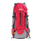 Retail Price 50L Waterproof Outdoor Sport Hiking Trekking Camping Travel Backpack Pack Mountaineering Climbing Knapsack With Rain Cover