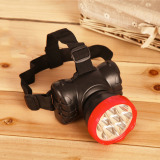 Get The Best Price For 50M Outdoor 9 Led Lamp Head Light Rechargeable Headlight Camping Walking Fishing Cycling Hiking Adjustable Headlamp Intl