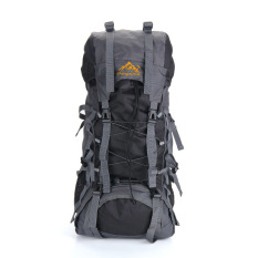 55l Outdoor Sport Backpack Hiking Trekking Bag Camping Travel Water-Resistant Pack Mountaineering Climbing Knapsack By Tomtop.