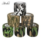 Cheapest 6 Rolls Camouflage Tape Bandage Cohesive Bandage Stealth Camo Tape Zztxbd 03 Color Random 177 16 X 1 96Inches Intl