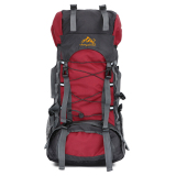 Cheapest 60L Camping Travel Waterproof Sport Outdoor Backpack Red Intl