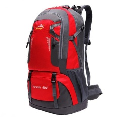 60l Waterproof Oxford Hiking Camping Backpacks Outdoor Wear-Resisting Bag - Intl By Crystalawaking.