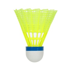 6pcs Professional Badminton Ball Yellow Feather Nylon Shuttlecocks Birdies Indoor Outdoor Sports Practice Training Badminton - Intl By Tomtop.