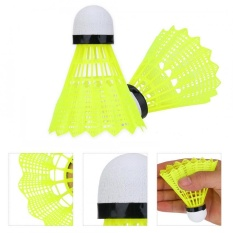 6pcs/set Professional Nylon Badminton Ball Shuttlecock Outdoor Sports Training Accessory - Intl By Highfly.