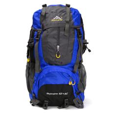 Price Comparison For 70L Waterproof Rucksack Backpack Bag Outdoor Camping Hiking Trekking Travelling Light Blue Intl