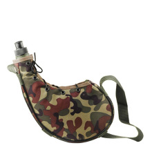 800ml Outdoor Sports Camping Camouflage Water Bottle Canteen Green By Tomtop.