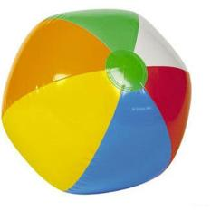 9 Inch Inflatable Blow Up Novelty Traditional Beach Ball Party Toy Ball Game By Five Star Store.