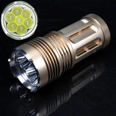9000 Lm 7X Xm L T6 Led 18650 Tactical Flashlight Torch Hunting Lamp Light Intl Price