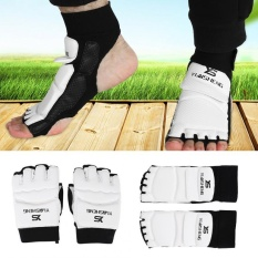 Adult/kids Taekwondo Sparring Boxing Half Toe Foot Guard Protector Cover (xs Foot Guard) - Intl By Highfly.