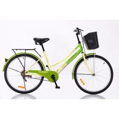 Review Aleoca 24 City Bicycle Garden City Green On Singapore