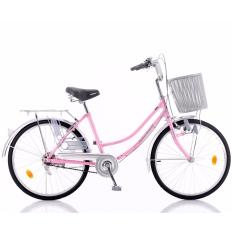 Where To Buy Aleoca 24 City Bicycle Signora Metallic Powder Pink