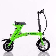 Aleoca E Potenza X.2 Electric Scooter (Green)
