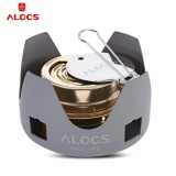 Alocs Portable Mini Spirit Burner Alcohol Stove For Outdoor Backpacking Hiking Camping Intl Online