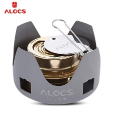Sale Alocs Portable Mini Spirit Burner Alcohol Stove For Outdoor Backpacking Hiking Camping Intl On China