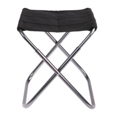 Aluminium Alloy Foldable Fishing Stool Portable Chair For Outdoors - Intl By Sportschannel