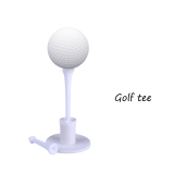 Andux 1 3 4 2 3 4 New Professional Golf Tee Holder 2 Plastic Tees T T White For Sale Online
