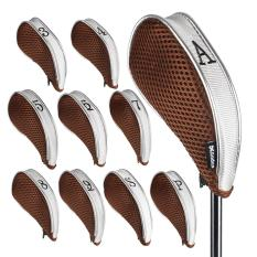 Compare Andux 10 Pcs Golf Club Iron Head Covers Driver Zipper Headcover Mt Yb01 Prices