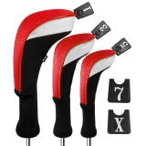 Buy Andux 3Pcs Golf 460Cc Driver Wood Head Covers With Long Neck Interchangeable No Tags Mt Mg22 Intl China