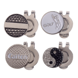 Coupon Andux 4Pcs Golf Hat Clips With Golf Ball Markers Gmj 01