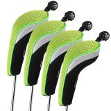 Andux 4Pcs Golf Hybrid Club Head Covers With Interchangeable No Tag Mt Hy01 Reviews