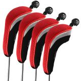 Andux 4Pcs Golf Hybrid Club Head Covers With Interchangeable No Tag Mt Hy01 Lowest Price
