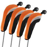 Purchase Andux 4Pcs Golf Hybrid Club Head Covers With Interchangeable No Tag Mt Hy01