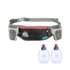 AONIJIE Running Hydration Belt Bottle Holder Belt Reflective Running Water Belt Fanny Pack Waist Packs with