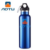 Cheap Aotu 600Ml Double Layer Stainless Steel Thermal Vacuum Insulation Water Bottle Blue Online